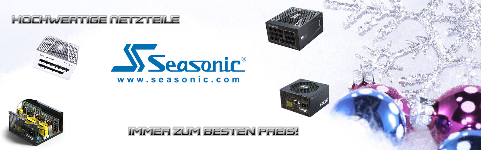 Banner Winter Seasonic
