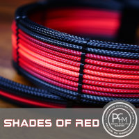 Extension Set - Shades of Red