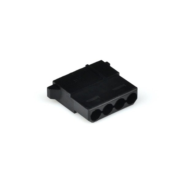 4 Pin Power Connector Female Black
