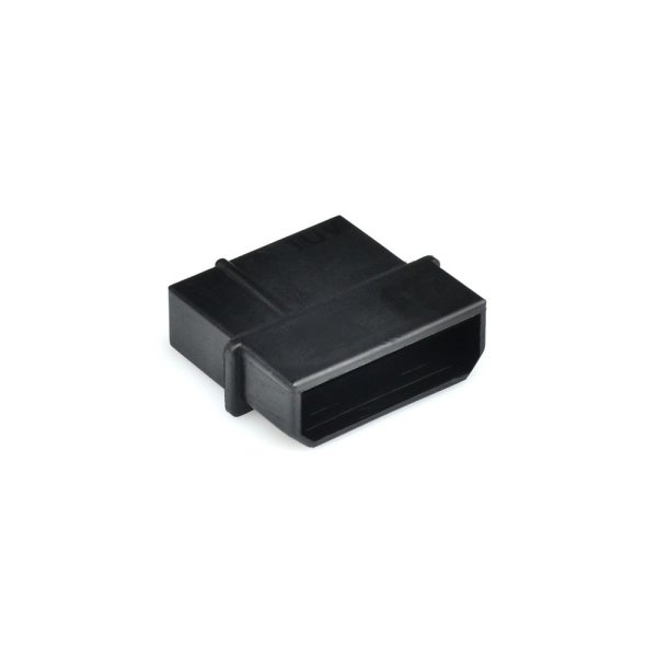 4 Pin Power Connector Male Black