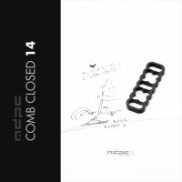 MDPCX Cable Combs 14 Closed Black