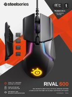 SteelSeries Rival 600 Gaming Maus - 12.000 DPI