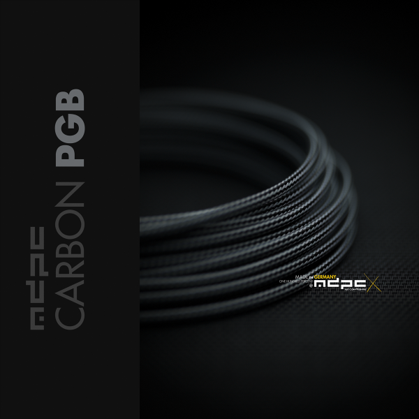 MDPCX Sleeve I Small I 1meter Carbon-PXB
