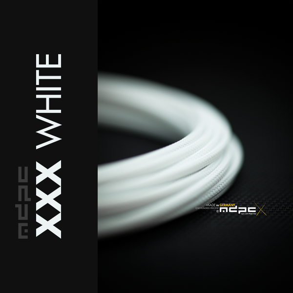 MDPCX Sleeve I Small I 1meter XXX-White