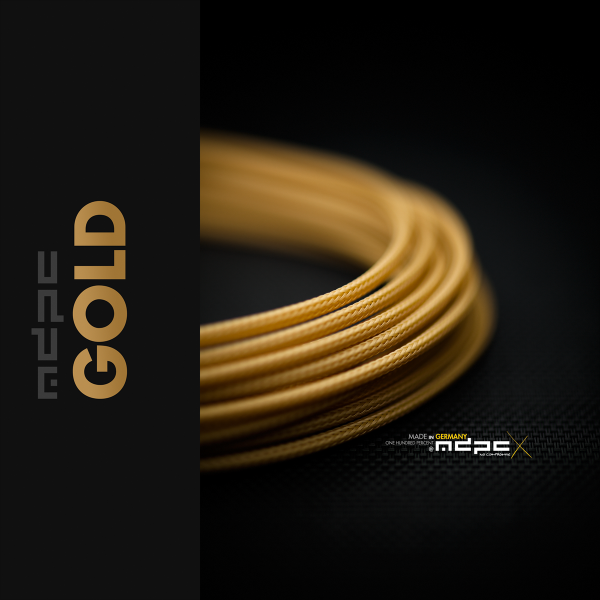 MDPCX Sleeve I Small I 1meter Gold