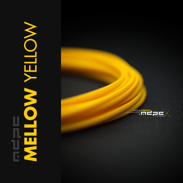 MDPCX Sleeve I Small I 1meter Mellow-Yellow