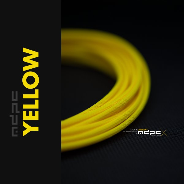 MDPCX Sleeve I Small I 1meter Yellow