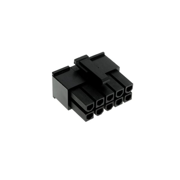10 Pin ATX Connector Female Black