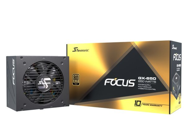 Seasonic FOCUS GX-650 | 650W vollmodular | 80+ Gold